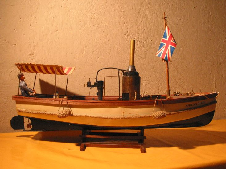 African queen model boat plans | Plan make easy to build boat